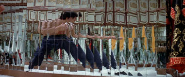 bruce lee enter the dragon mirror fight