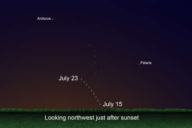 how to see Comet Neowise