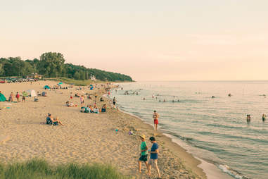 Oval Beach, Saugatuck