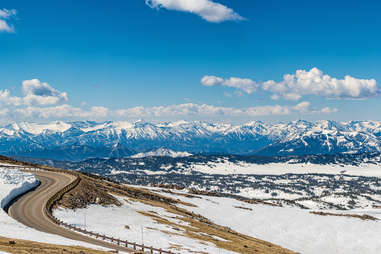 The Beartooth Scenic Highway