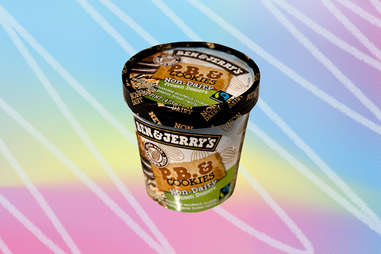 Ben & Jerry's non-dairy pb and cookies peanut butter