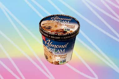 Almond Dream non-dairy ice cream fudge