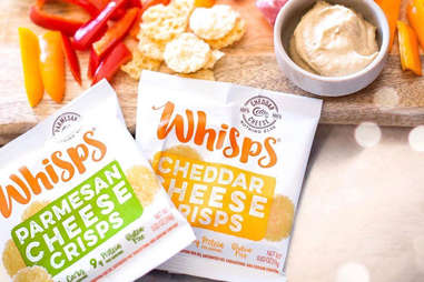 different types of cheeses whisps cracker cheese