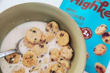 highkey cookies snack keto chocolate chip flavor snacks cookie