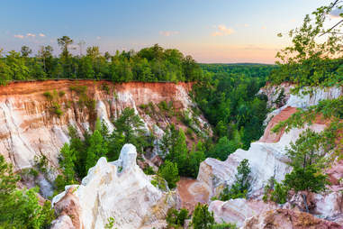 Providence Canyon in Southwest Georgia