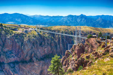 Royal Gorge Canyon Bridge