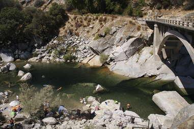 Nevada City swimming hole