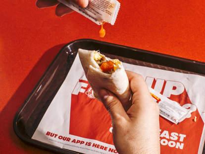 free wendy's breakfast burrito