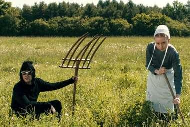 "David Rose on an Amish farm in ""Finding David"""