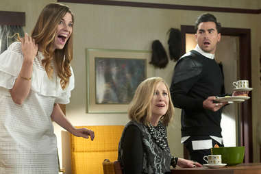 Roses react to good news in Schitt's Creek Town for Sale