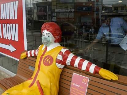 McDonald's mask