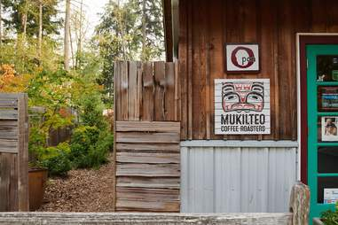 Mukilteo Coffee Roasters & Our Cafe in the Woods