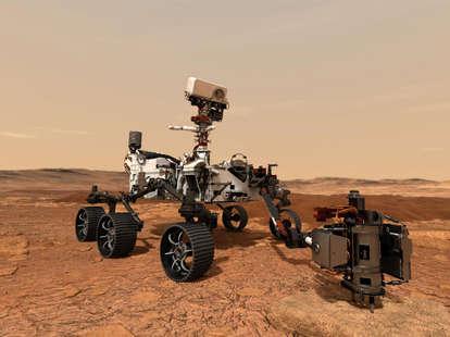 Stream NASA Mars Perseverance Rover