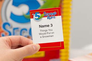 5 Second Rule sample card