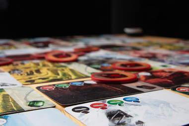Splendor cards and tokens