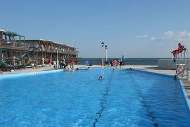 Silver Gull Beach Club swimming pool
