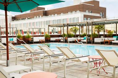 the william vale hotel pool