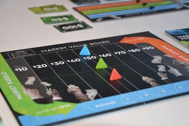 Exchange board game setup