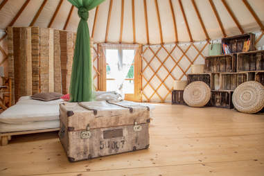 Best Airbnbs For Glamping Most Wishlisted Yurts More Thrillist Our kids really loved it too, and enjoyed. most wishlisted yurts