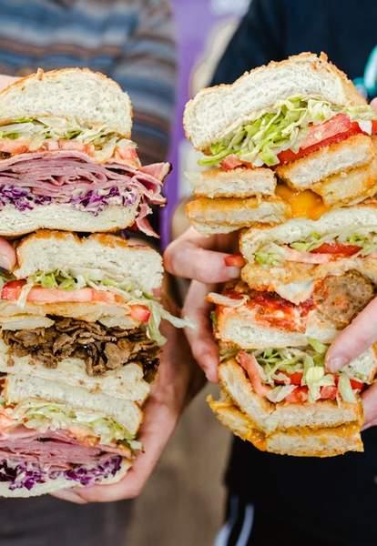 Ike's Sandwiches (San Diego Midway)