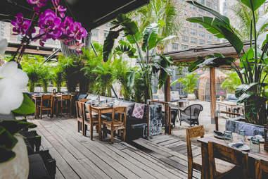Gitano Garden of Love outdoor dining patio
