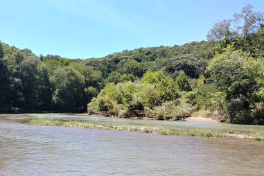 Buffalo River in Tennessee