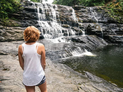 Fall Creek Falls State Park in Central Tennessee