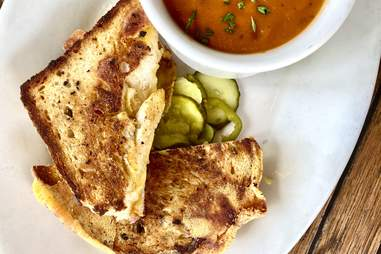 meddlesome moth grilled cheese