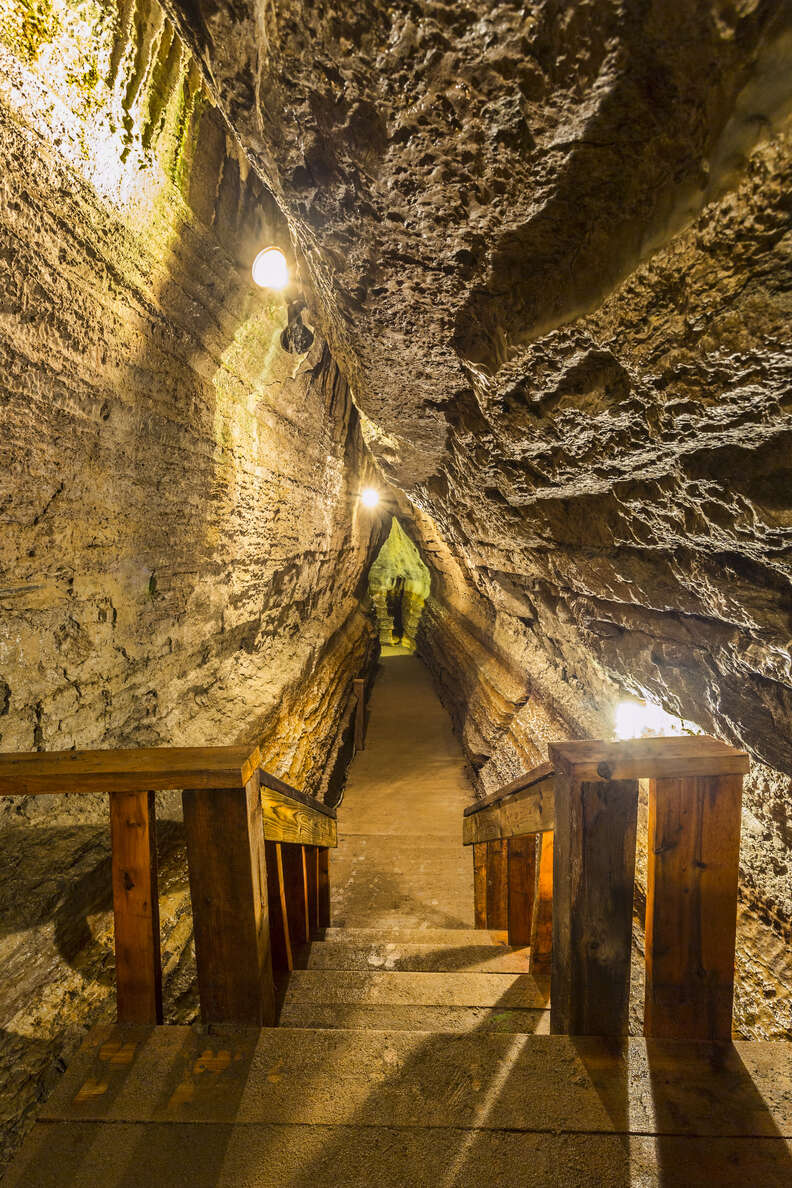 Bonnechere Caves in Eganville, Ontario