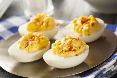 deviled eggs for keto bbq sides egg recipe easy