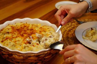 cauliflower mac and cheese for keto bbq sides