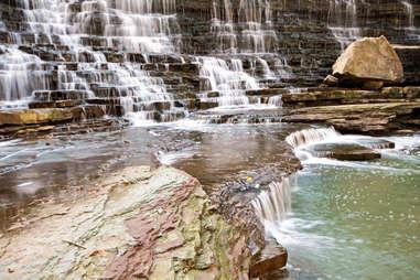 Albion Falls along Niagara Escarpment