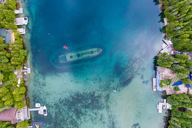 Ship Wreck in Bruce Peninsula