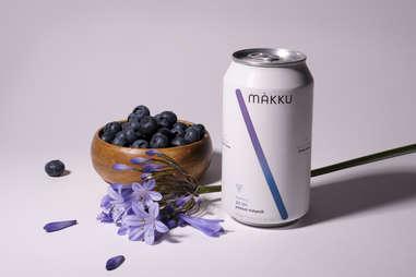 Blueberry flavored Makku