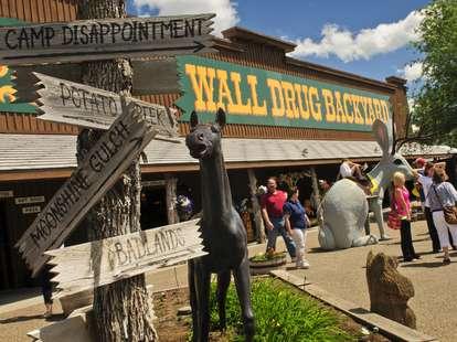 Wall Drug Back Yard