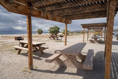 Salton Sea State Recreation Center in California