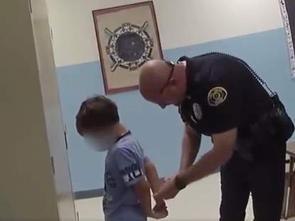 Florida Cops Arrested An 8-Year-Old Boy At School. Now His Family Is Suing  - NowThis