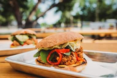 Austin Daily Press torta sandwich