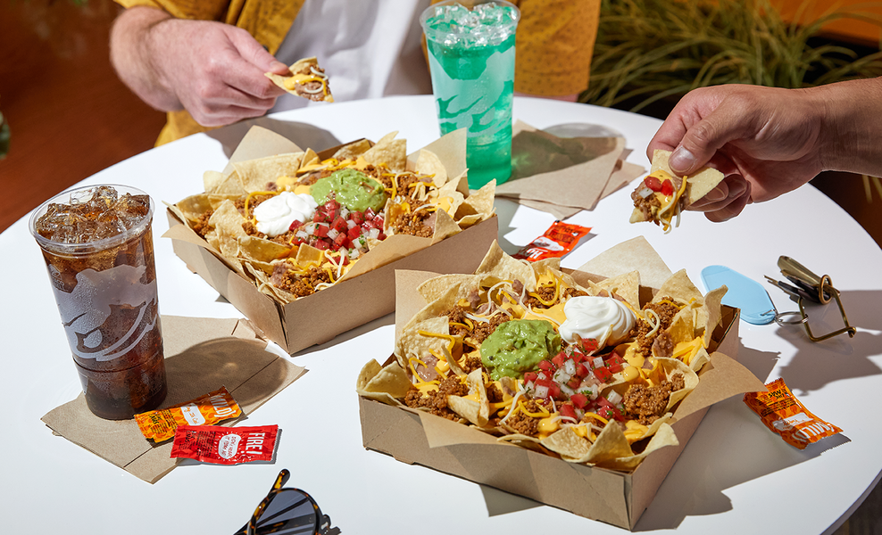 Taco Bell Is Giving Us Giant Boxes of Nachos Again