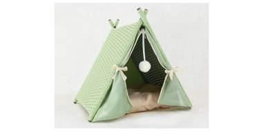 Wicker Portable Cat House