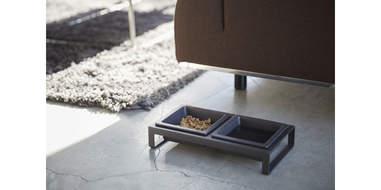 elevated cat feeder
