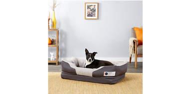 BarksBar Snuggly Sleeper Orthopedic Bolster Dog Bed