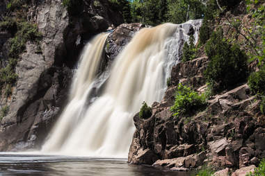 High Falls at Tettegouche State Park