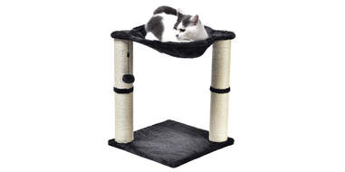 Cat lounging post