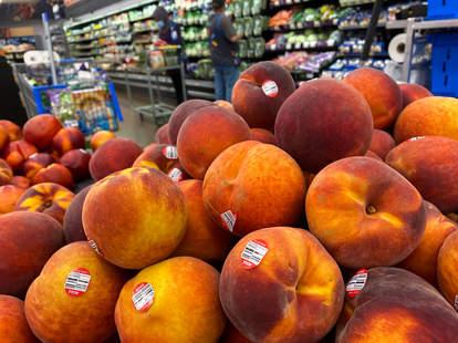 Peach Recall Expands to Target, Walmart