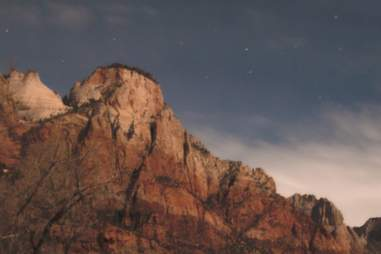 stargazing zion national park
