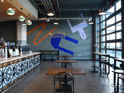 Gumption Coffee interior