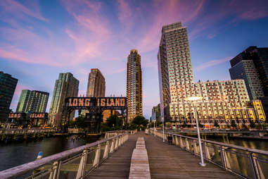 Gantry Plaza State Park in Long Island City, Queens