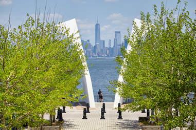 """Postcards"" at Staten Island 9/11 Memorial along the North Shore Esplanade"