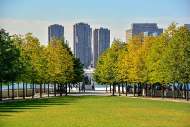 FDR Four Freedoms Park on Roosevelt Island